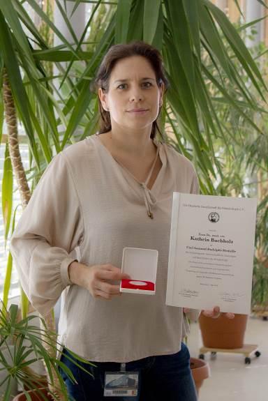Auszeichnung Dr. Kathrin Buchholz